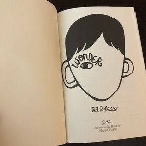 """Wonder"" Hard Back Book (New/Unused)"